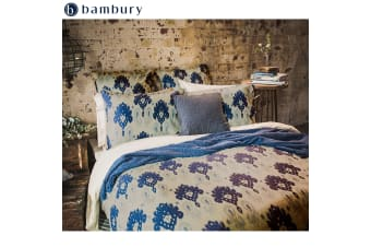Linen Cotton Quilt Cover Set Lavinia by Bambury