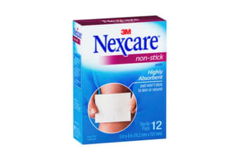 Nexcare Non-Stick Pads (76.2mm x 101mm)