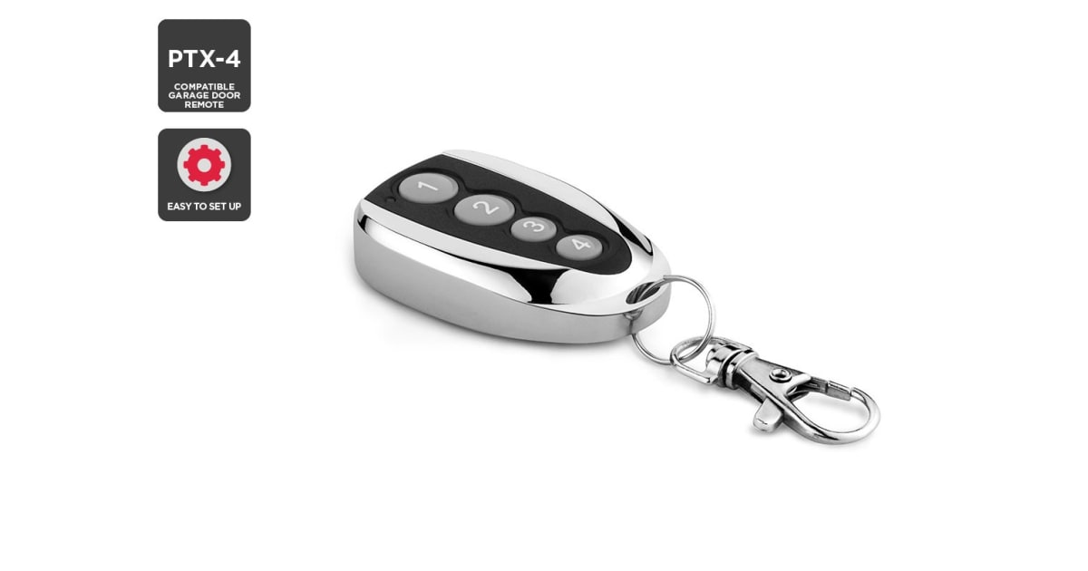 Dick Smith Nz Ptx 4 Compatible Garage Door Remote Remotes