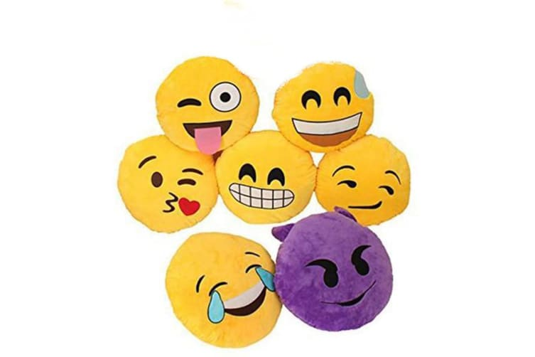 Emoji Pillows - Laughing with Tears