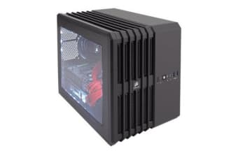 Corsair Air240 mATX Case Black Cube Design w/Direct Cooling. 2 Years Warranty