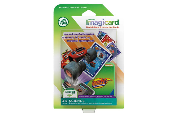 LeapFrog LeapPad Learning Imagicards: Blaze and the Monster Machine