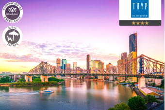 BRISBANE: 3 Nights Stay at TRYP Wyndham Fortitude Valley for Two
