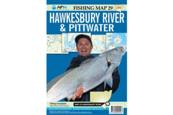 Hawkesbury River & Pittwater : AFN Fishing Map 29