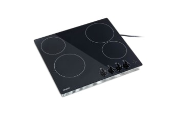 Devanti 6000W Four Burner Ceramic Cooktop