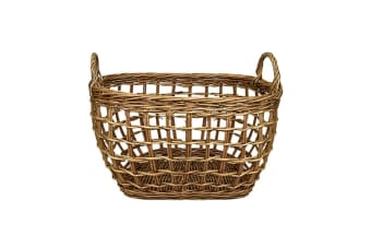 Casa Regalo Lika Rectangular Willow Basket Medium 40x29cm