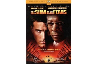 The Sum Of All Fears - Rare- Aus Stock DVD PREOWNED: DISC LIKE NEW