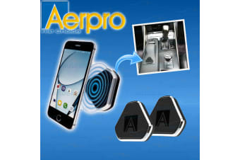 AERPRO MAGMATE UNIVERSAL MAGNETIC PHONE HANDSFREE STICK ON CAR MOUNTS HOLDERS