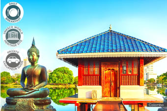 SRI LANKA: 7 Day Private Hill Country Tour for Two, Four or Six