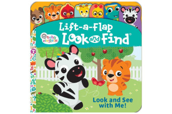 Baby Einstein Look and See With Me! - Lift-a-Flap Look and Find