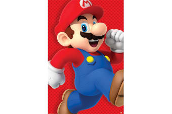 Super Mario Poster (Red/Blue)