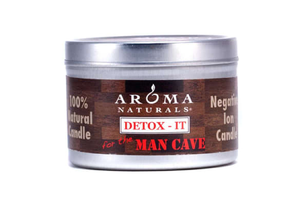 Aroma Naturals Detox-It Allergy Friendly Candle - For The Man Cave (2.8oz)