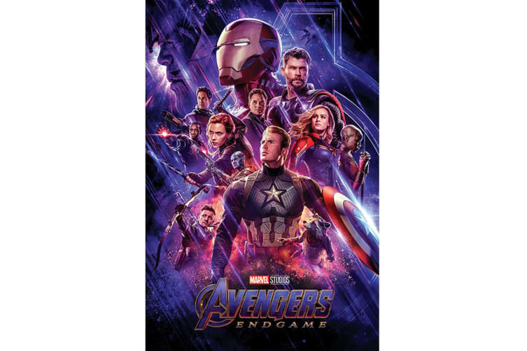 Avengers Endgame Journeys End Poster (Multicoloured) (61cm x 91.5cm)