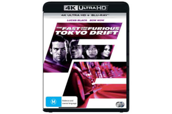 The Fast and the Furious Tokyo Drift 4K Ultra HD Blu-ray Digital Download UHD