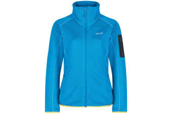 Regatta Great Outdoors Womens/Ladies Laney III Fleece Jacket (Fluorescent Blue) (22)