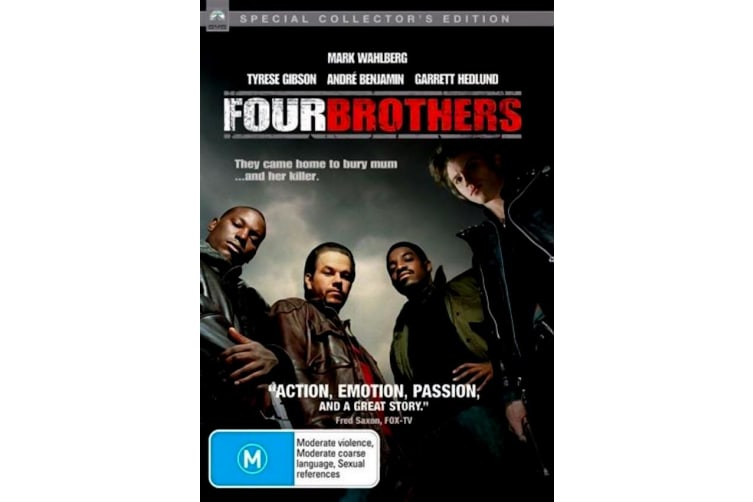 Four Brothers - Rare- Aus Stock DVD PREOWNED: DISC LIKE NEW
