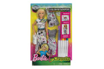 Barbie Crayola Colour-in-Fashion Doll with Accessories