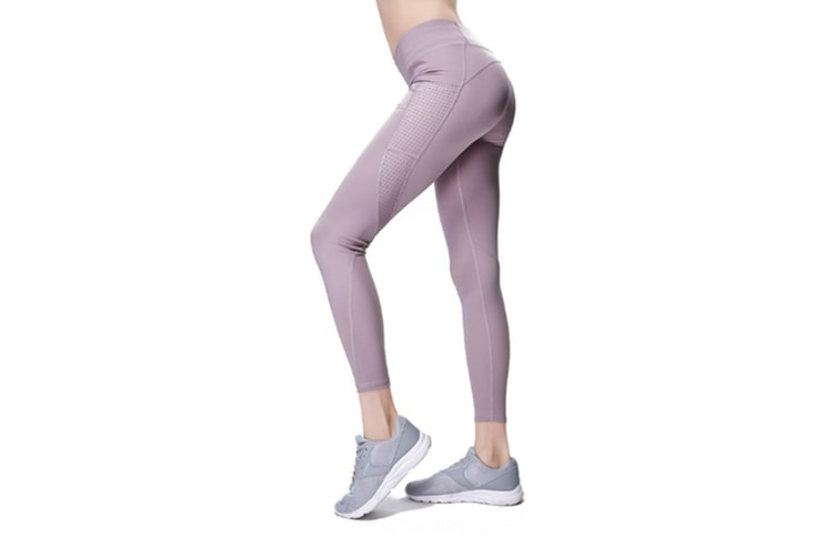 Yoga Pants For Women Tights Elastic Pants Fitness Leggings Purple S
