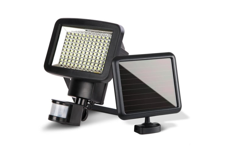 120 LED Solar Sensor Light Outdoor Security Floodlights Garden Motion