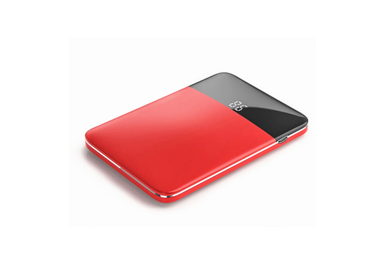 Mini Charging Po Large Capacity Ultra-Thin Mobile Power Supply - Red Red 6000 Mah
