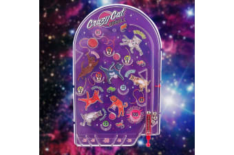 Crazy Cosmic Cats Retro Pinball Game | Ridley`s House of Novelties