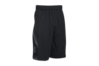 Under Armour Men's Space the Floor Shorts (Black)