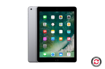 Apple iPad 2017 Refurbished (32GB, Wi-Fi, Grey) - A+ Grade