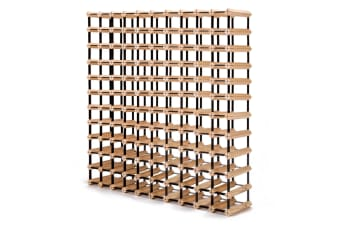 120 Bottle Timber Wine Rack