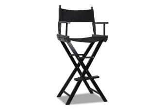 Tall Director Chair (Black)