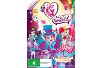 Ever After High Spring Unsprung / Thronecoming DVD Region 4