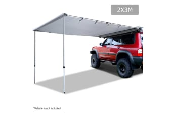 2X3M Car Awning  (Grey)
