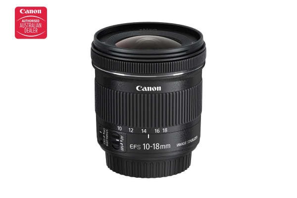 Canon EF-S 10-18mm f/4.5-5.6 IS STM (EFS10-18ISST)