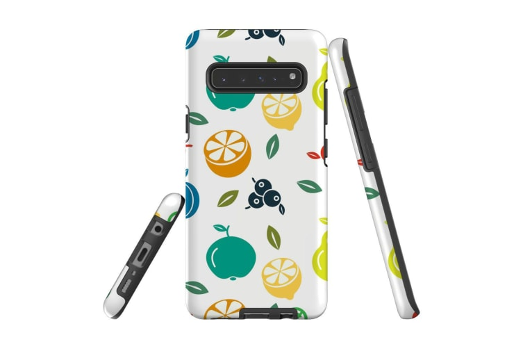 For Samsung Galaxy S10 5G Case  Armour Tough Cover  Fruit Assortment