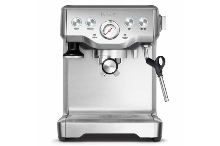Breville The Infuser 1.8L Stainless Steel Espresso/Coffee Machine w/Milk Frother