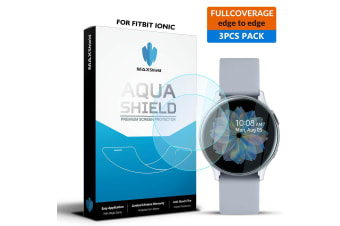 Maxshield Samsung Galaxy Watch Active 2 44mm Full Coverage Waterproof Screen Protector