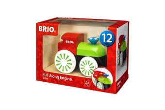 Brio Early Learning Toddler Pull-Along Engine