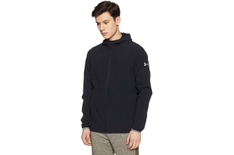 Under Armour Men's Outrun The Storm Jacket (Black/Reflective)