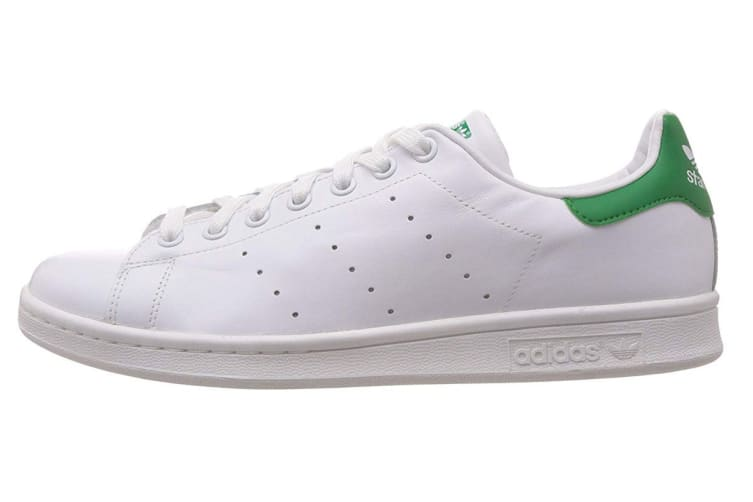 online store 45f4b 8fbf5 Adidas Originals Men's Stan Smith Shoe (White/Green, Size 11 UK) | Shoes