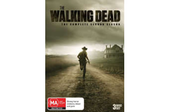 The Walking Dead The Complete Second Season 2 Box Set DVD Region 4