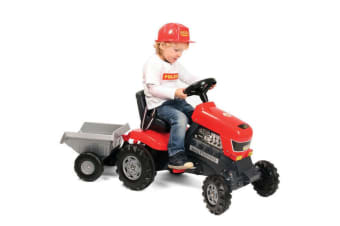 Wader Turbo Pedal Tractor & Trailer/Wagon Ride-On Kids/Outdoor Play/Quad Bike