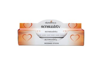 Elements Sensuality Incense Sticks (Box Of 6 Packs) (Orange)