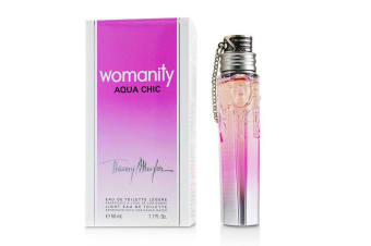 Thierry Mugler (Mugler) Womanity Aqua Chic Eau De Toilette Spray (Limited Edition) 50ml/1.7oz