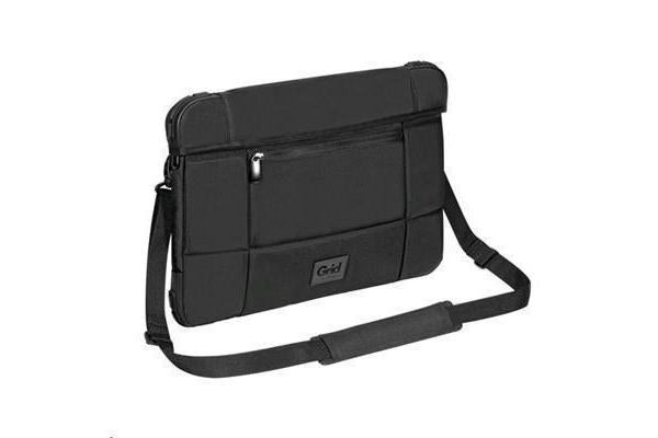 "Targus 15.6"" Notebook Bag - Grid High Impact Slipcase - Black - Drop Resistant"