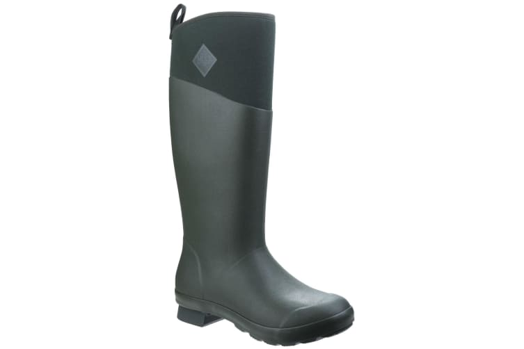 Muck Boots Unisex Tremont Tall Waterproof Wellington Boot (Deep Forest/Charcoal Gray) (3 UK)