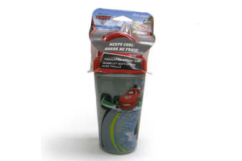 Disney Cars Insulated Straw Cup Toddler/Child Sip/Sippy BPA Free Drink Bottle