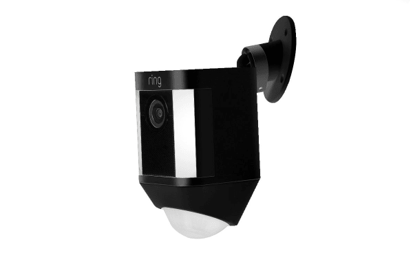 Ring Spotlight Wireless Security Camera (Black)