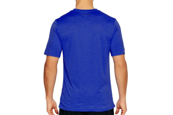 Champion Men's Double Dry Heather Tee - Ultra Marine (Size S)