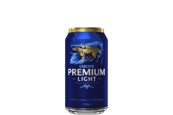 Cascade Brewery Co. Premium Light Cans 375mL Case of 24