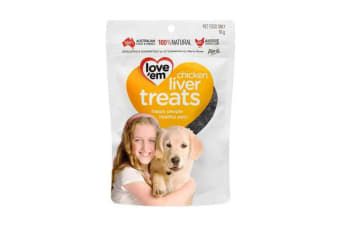 Love'em Chicken Liver Treats