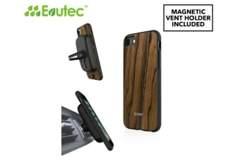 Evutec AER Series iPhone 6/6S/7/8 Cover w/ AFIX+ Magnetic Mount - Burmese Rosewood